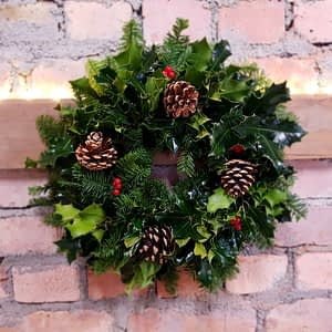 Small Holly Wreath